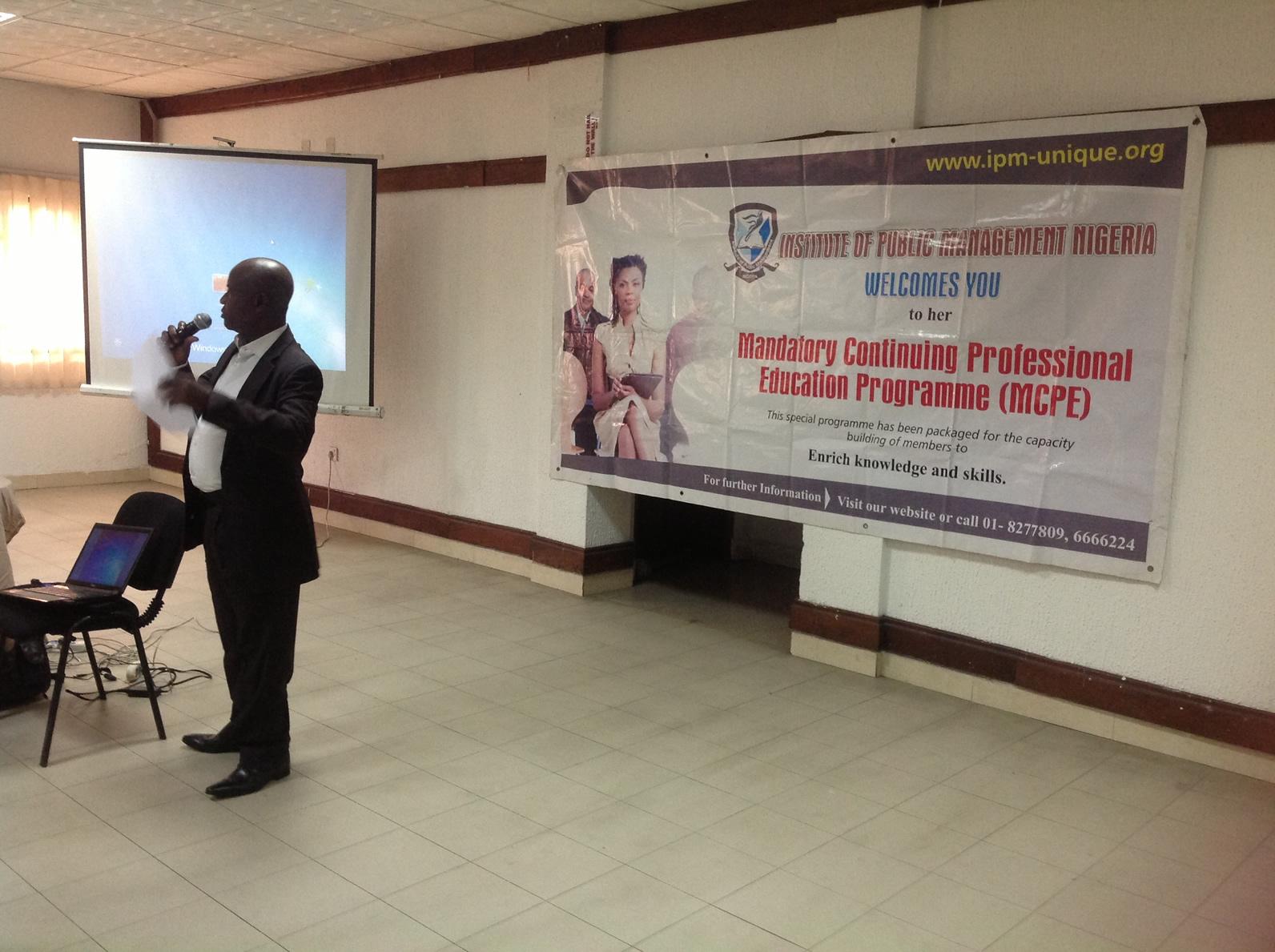 Continuing education of members