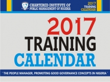 2017 Training Calendar