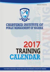 2017 training calendar 1